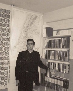 Here I am in my dorm room at Indiana University in the early 60s—not long before I left to attend seminary, the Boston University School of Theology. What was I thinking?