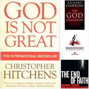 These books are representative of the atheist publishing boom of the last decade and a half: more than 125 titles.